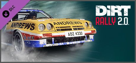 Clickable image taking you to the Steam store page for the Opel Manta 400 DLC for Dirt Rally 2.0.