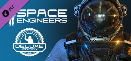 Clickable image taking you to the Steam store page for the Space Engineers Deluxe DLC for Space Engineers