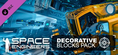 Clickable image taking you to the Steam store page for the Decorative Pack DLC for Space Engineers