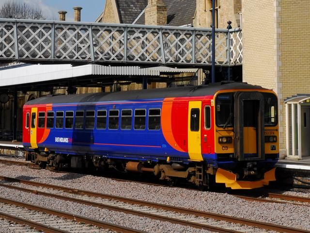 Image showing Class 153 from the outgoing East Midlands Trains franchise