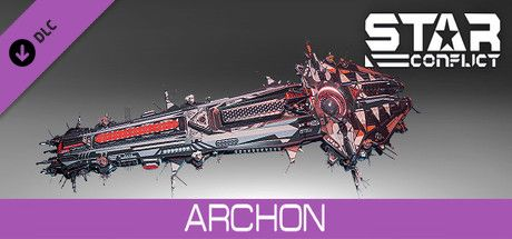 Clickable image taking you to the Steam store page for the Archon pack DLC for Star Conflict