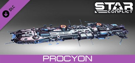 Clickable image taking you to the Steam store page for the Procyon pack DLC for Star Conflict