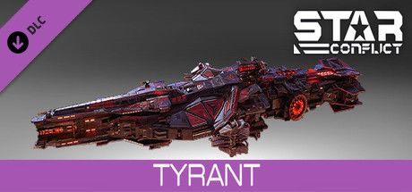 Clickable image taking you to the Steam store page for the Tyrant pack DLC for Star Conflict