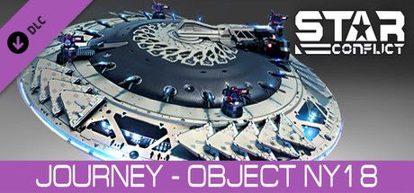 Clickable image taking you to the Steam store page for the Journey - Object NY18 DLC for Star Conflict