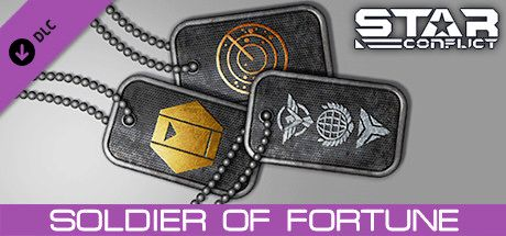 Clickable image taking you to the Steam store page for the Mercenary Pack - Soldier of Fortune DLC for Star Conflict