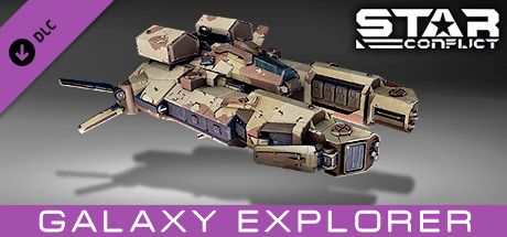 Clickable image taking you to the Steam store page for the Mercenary Pack - Galaxy Explorer DLC for Star Conflict
