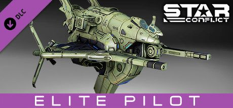Clickable image taking you to the Steam store page for the Mercenary Pack - Elite Pilot DLC for Star Conflict