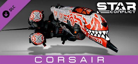 Clickable image taking you to the Steam store page for the Pirate Pack - Corsair DLC for Star Conflict