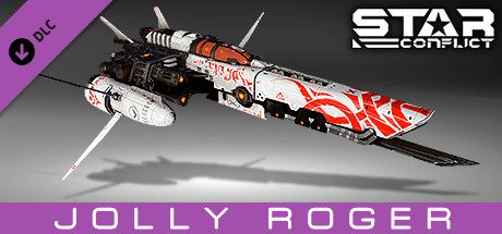 Clickable image taking you to the Steam store page for the Pirate Pack - Jolly Roger DLC for Star Conflict