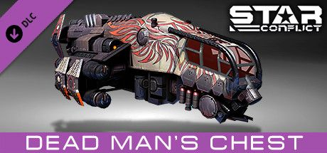 Clickable image taking you to the Steam store page for the Pirate Pack - Dead Man's Chest DLC for Star Conflict
