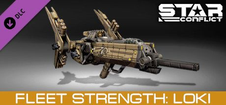 Clickable image taking you to the Steam store page for the Fleet Strength - Loki DLC for Star Conflict