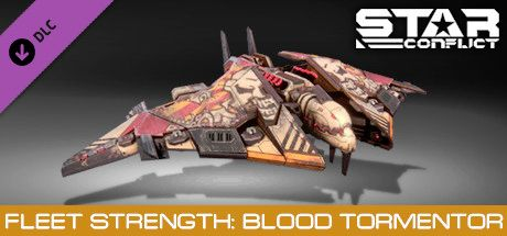Clickable image taking you to the Steam store page for the Fleet Strength - Blood Tormentor DLC for Star Conflict
