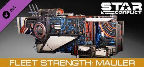 Clickable image taking you to the Steam store page for the Fleet Strength - Mauler DLC for Star Conflict