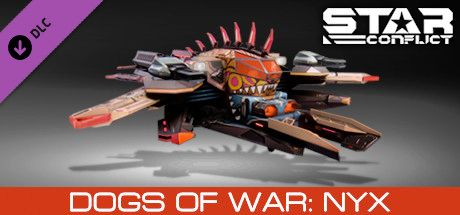 Clickable image taking you to the Steam store page for the Dogs of War - Nyx DLC for Star Conflict