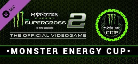 Clickable image taking you to the Steam store page for the Monster Energy Cup DLC for Monster Energy Supercross - The Official Videogame 2