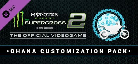 Clickable image taking you to the Steam store page for the Ohana Customization Pack DLC for Monster Energy Supercross - The Official Videogame 2