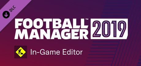 Clickable image taking you to the Steam store page for the In-Game Editor DLC for Football Manager 2019