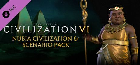Clickable image taking you to the Indiegala store page for the Nubia Civilization & Scenario Pack DLC for Sid Meier's Civilization® VI