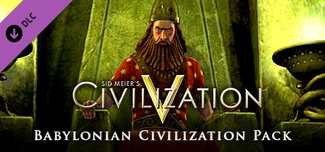 Clickable image taking you to the Indiegala store page for the Babylon (Nebuchadnezzar II) DLC for Sid Meier's Civilization® V