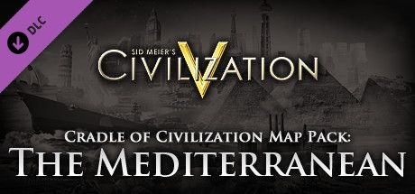 Clickable image taking you to the Indiegala store page for the Cradle of Civilization Map Pack: Mediterranean DLC for Sid Meier's Civilization® V
