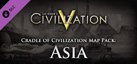 Clickable image taking you to the Indiegala store page for the Cradle of Civilization Map Pack: Asia DLC for Sid Meier's Civilization® V