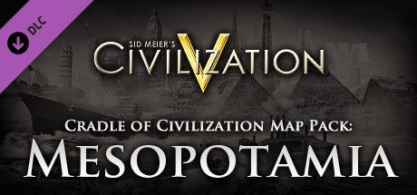 Clickable image taking you to the Indiegala store page for the Cradle of Civilization Map Pack: Mesopotamia DLC for Sid Meier's Civilization® V