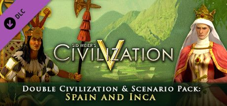 Clickable image taking you to the Indiegala store page for the Civ and Scenario Double Pack: Spain and Inca DLC for Sid Meier's Civilization® V