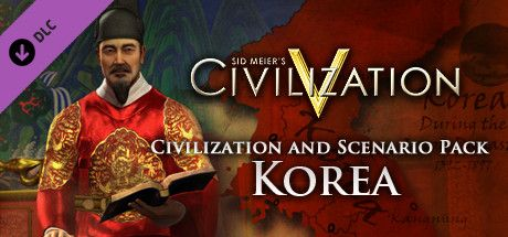 Clickable image taking you to the Indiegala store page for the Civ and Scenario Pack: Korea DLC for Sid Meier's Civilization® V