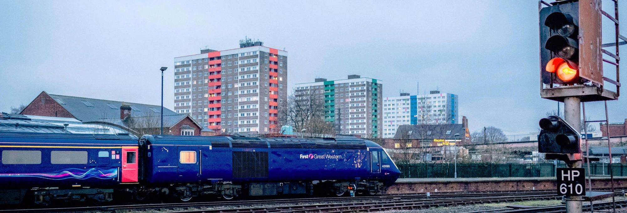 Image showing an on loan HST at Hull Paragon
