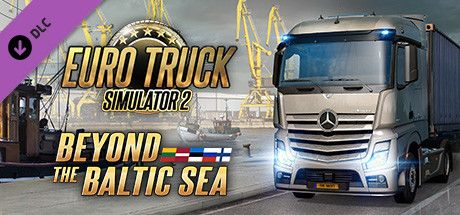 Clickable image taking you to the DPSimulation page for the Euro Truck Simulator 2 - Beyond the Baltic Sea DLC