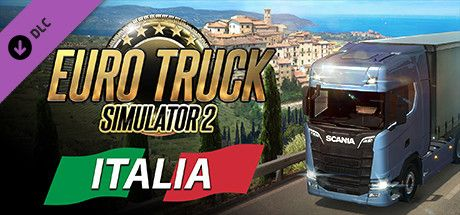 Clickable image taking you to the DPSimulation page for the Euro Truck Simulator 2 - Italia DLC