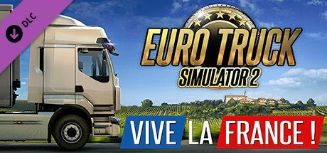 Clickable image taking you to the DPSimulation page for the Euro Truck Simulator 2 - Vive la France! DLC