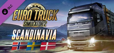 Clickable image taking you to the DPSimulation page for the Euro Truck Simulator 2 - Scandinavia DLC
