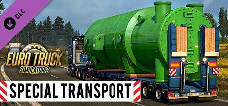 Clickable image taking you to the DPSimulation page for the Euro Truck Simulator 2 - Special Transport DLC