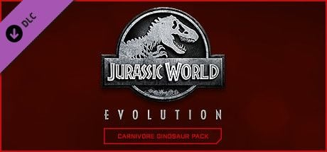 Clickable image taking you to the Steam store page for the Carnivore Dinosaur Pack DLC for Jurassic World Evolution
