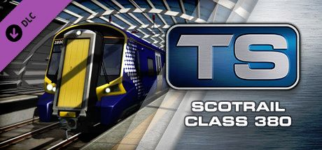 Clickable image taking you to the DPSimulation page for the ScotRail Class 380 EMU Add-On DLC for Train Simulator