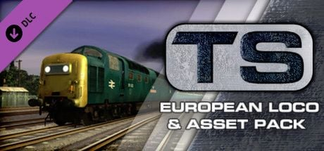 Clickable image taking you to the DPSimulation page for the European Loco & Asset Pack DLC for Train Simulator