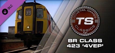 Clickable image taking you to the DPSimulation page for the BR Class 423 '4VEP' EMU Add-On DLC for Train Simulator