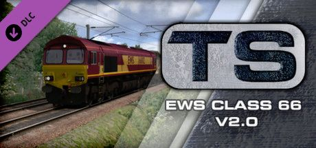 Clickable image taking you to the DPSimulation page for the EWS Class 66 v2.0 Loco Add-On DLC for Train Simulator