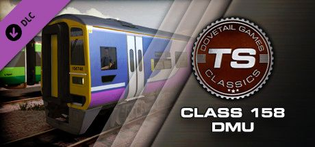 Clickable image taking you to the DPSimulation page for the Class 158 DMU Add-On DLC for Train Simulator