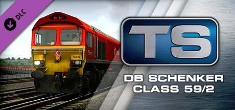 Clickable image taking you to the DPSimulation page for the DB Schenker Class 59/2 Loco Add-On DLC for Train Simulator