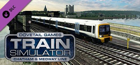 Clickable image taking you to the DPSimulation page for the Chatham Main & Medway Valley Lines Route Add-On DLC for Train Simulator