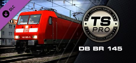 Clickable image taking you to the DPSimulation page for the DB BR 145 Loco Add-On DLC for Train Simulator