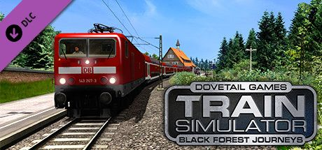 Clickable image taking you to the DPSimulation page for the Black Forest Journeys: Freiburg-Hausach Route Add-On DLC for Train Simulator