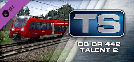 Clickable image taking you to the DPSimulation page for the DB BR 442 'Talent 2' EMU Add-On DLC for Train Simulator