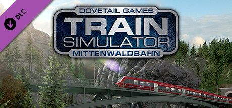 Clickable image taking you to the DPSimulation page for the Mittenwaldbahn: Garmisch-Partenkirchen - Innsbruck Route Add-On DLC for Train Simulator
