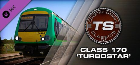 Clickable image taking you to the DPSimulation page for the BR Class 170 'Turbostar' DMU Add-On DLC for Train Simulator