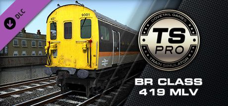 Clickable image taking you to the DPSimulation page for the BR Class 419 MLV BEMU Add-On DLC for Train Simulator
