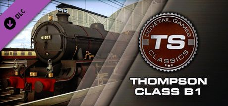 Clickable image taking you to the DPSimulation page for the Thompson Class B1 Loco Add-On DLC for Train Simulator