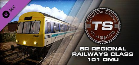 Clickable image taking you to the DPSimulation page for the BR Regional Railways Class 101 DMU Add-On DLC for Train Simulator